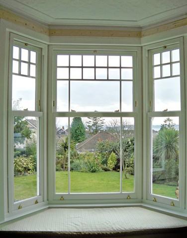 Bygone sash windows